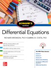 Schaum's Outline of Differential Equations, Fifth Edition Cover Image