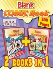 blank comic book: Draw Your Own Comics and Free your Creativity Cover Image