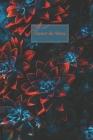 Carnet de Notes: Fantaisie, Avec des Fleurs - Taille facile à transporter - 124 pages lignées Cover Image