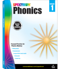 Spectrum Phonics, Grade 1 Cover Image