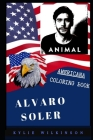 Alvaro Soler Americana Coloring Book: Patriotic and a Great Stress Relief Adult Coloring Book Cover Image