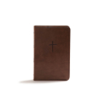 KJV Compact Bible, Brown LeatherTouch, Value Edition Cover Image