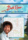 Bob Ross Word Search and Coloring Book (Coloring Book & Word Search) Cover Image