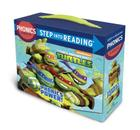 Phonics Power! (Teenage Mutant Ninja Turtles): 12 Step into Reading Books Cover Image