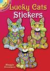 Lucky Cats Stickers (Dover Little Activity Books Stickers) Cover Image