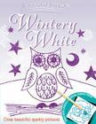 Scratch & Stencil: Wintery White Cover Image