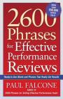 2600 Phrases for Effective Performance Reviews: Ready-To-Use Words and Phrases That Really Get Results Cover Image