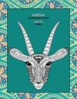 Mandala Coloring Book for Boys - Animals - Gazella Cover Image