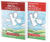 Kindergarten Math With Confidence Bundle: Instructor Guide & Student Workbook Cover Image