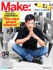 Make: Technology on Your Time, Issue 39: Robotic Me (Make Magazine #39) Cover Image
