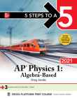 5 Steps to a 5: AP Physics 1 Algebra-Based 2021 Cover Image