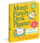 Mom's Family Desk Planner 2021 Cover Image