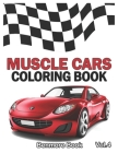 Muscle Cars: Coloring books, Classic Cars, Trucks, Planes Motorcycle and Bike (Dover History Coloring Book) (Volume 4) Cover Image