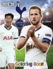 Harry Kane and Tottenham F.C.: The Soccer Coloring and Activity Book: 2019-2020 Season Cover Image