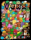 Vexx Coloring book: 100 High-quality Pages Vexx (8.5*11 inches) Stress Relieving Designs Animals, Doodles, Kawaii And So Much More Gifts f Cover Image