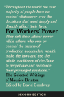 For Workers' Power: The Selected Writings of Maurice Brinton, Second Edition Cover Image