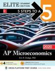 5 Steps to a 5: AP Microeconomics 2020 Elite Student Edition Cover Image