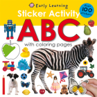 Sticker Activity ABC: Over 100 Stickers with Coloring Pages (Sticker Activity Fun) Cover Image