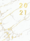 Agenda 2021 Tapa Dura Semana Vista: Agenda Semanal 2021, Agenda en español, Semana Vista, Agenda de 12 Meses, Planificador Diaria 2021, aprox. A4, Már Cover Image