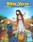 Bible Verse Coloring Book For Kids: Bible Verses With Beautiful Scenes To Color Cover Image