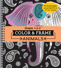 Color & Frame - Animals (Adult Coloring Book) Cover Image