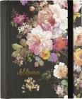 Midnight Floral Large Address Book Cover Image