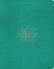 ESV Single Column Journaling Bible (Trutone, Teal, Resplendent Cross Design) Cover Image