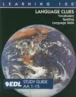 Language Clues: AA 1-15: Vocabulary, Spelling, Language Skills Cover Image