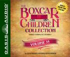 The Boxcar Children Collection Volume 35 (Library Edition): The Sword of the Silver Knight, The Game Store Mystery, The Mystery of the Orphan Train Cover Image