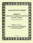 Arban´s complete celebrated method for the cornet: Part 1 - 4 Cover Image