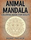 Animal Mandala: Coloring Book for Adults Cover Image