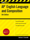CliffsNotes AP English Language and Composition, 5th Edition Cover Image