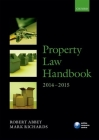 Property Law Handbook 2014-2015 Cover Image