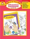 Phonics Centers: Level D (Take It to Your Seat) Cover Image