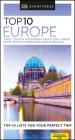 DK Eyewitness Top 10 Europe (Pocket Travel Guide) Cover Image
