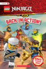 Back in Action! (LEGO Ninjago: Reader with Stickers) Cover Image