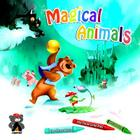 Magical Animals: Goldilocks, the Three Little Pigs and the Frog Prince (Campfire Graphic Novels) Cover Image