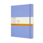 Moleskine Classic Notebook, Extra Large, Ruled, Hydrangea Blue, Hard Cover (7.5 X 9.75) Cover Image