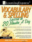 Vocabulary & Spelling Success in 20 Minutes a Day Cover Image