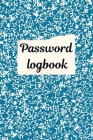 Password Logbook: Personal internet password keeper and organizer. Cover Image