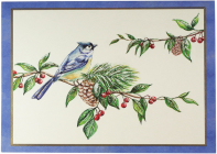 Feathered Greetings Deluxe Boxed Holiday Cards Cover Image