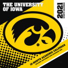 Iowa Hawkeyes 2021 12x12 Team Wall Calendar Cover Image