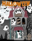 Halloween Activity Books For Kids: Coloring, Mazes, Matching, Dot to dot Pages For Ages 3-5, 4-8 Cover Image