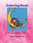Coloring Book: Playful, Fun and Easy Coloring Pages for Beginners, Boys and Girls for Relaxations Cover Image
