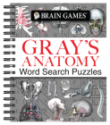Brain Games - Gray's Anatomy Word Search Puzzles Cover Image