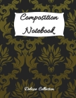 Composition Notebook: Simple linear notebook with college ruled 100 pages (8.5x11 format) / Composition Notebook for students / Wide Blank L Cover Image