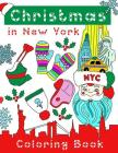 Christmas in New York Coloring Book Cover Image