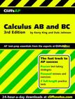 CliffsAP Calculus AB and BC, 3rd Edition Cover Image