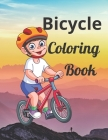 Bicycle Coloring Book: Bicycle Coloring Book: Journey to the Edge of the World Paperback Cover Image
