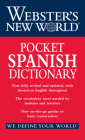 Webster's New World Pocket Spanish Dictionary Cover Image